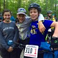 Mountain Bikers Raced Through the Fall