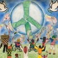 Justin Liang's Peace Poster Wins Maine Lions Competition