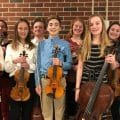 Nine MCWS Students Participate in MMEA District Instrumental Honors Festival