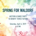 Spring for Waldorf this Saturday, April 6th!